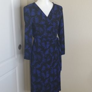 Anne Klein faux wrap dress size small